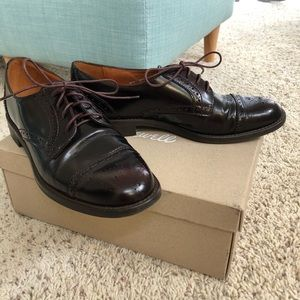 Madewell Patent Leather Baroque Oxford Shoes